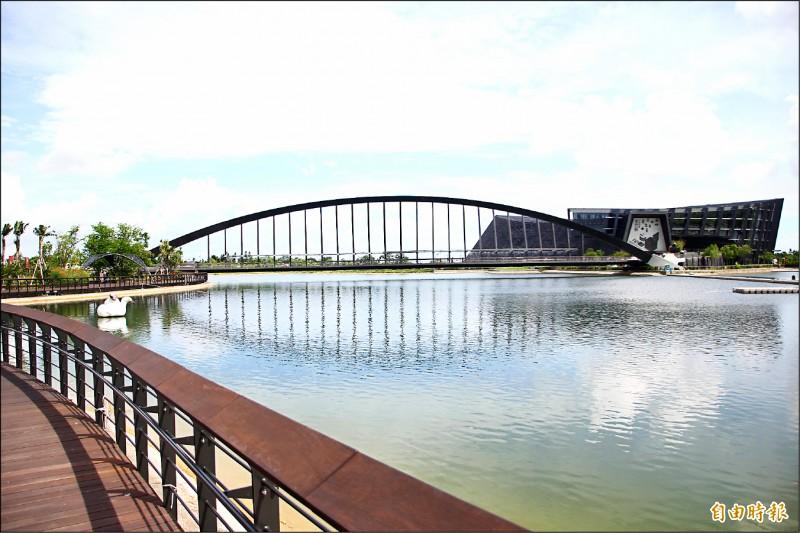 故宮南院將於7月13日開放。(記者林宜樟攝)