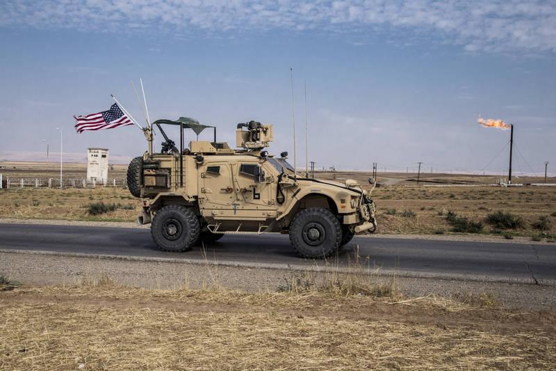 美軍駐敘利亞基地10日又傳遭迫擊砲襲擊。圖為駐敘利亞美軍。(美聯社資料照)