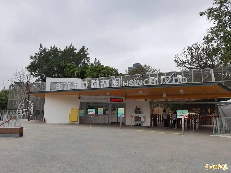 新竹市長林智堅表示,13日起雖微解封,但竹市多數公共場所仍維持封閉,包括市立動物園都維持封閉到26日。(記者洪美秀攝)