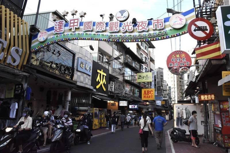 台中夜市關閉近2個月解禁,明晚逢甲等13夜市開賣啦。(圖:市府提供)