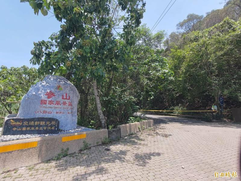 台灣疫情7月13日進入微解封,彰化八卦山境內多條登山步道將撤掉封鎖線,重新開放。(記者陳冠備攝)