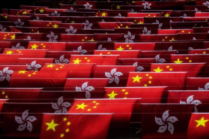 美國務院表示,會持續追究中、港當局損害香港法治的責任。(法新社)