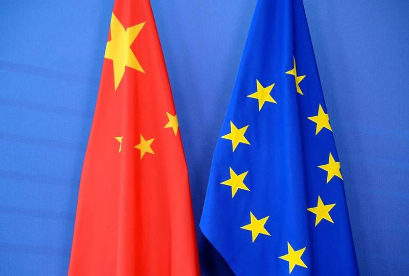 歐洲有聲音傳出,認同應對中國不公平的商業行為採更強硬立場,但不應與中國脫鉤。(法新社)