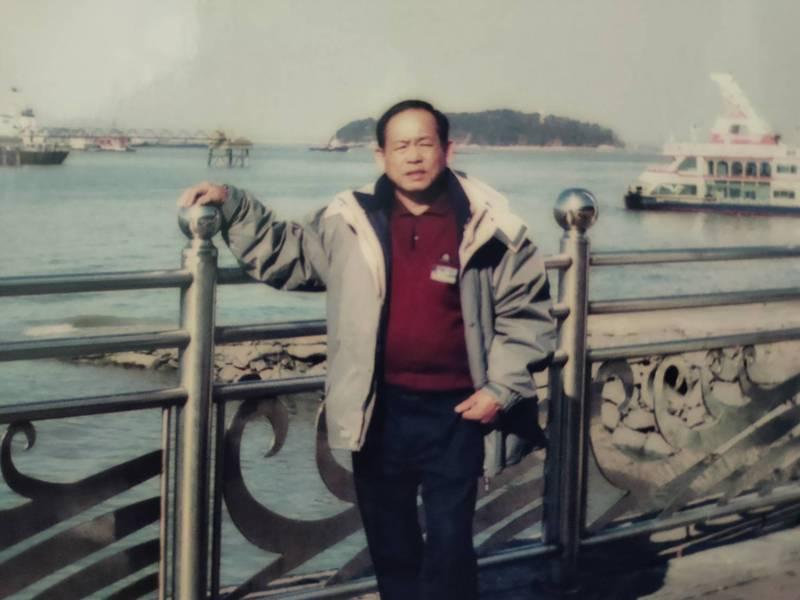 台灣遠洋漁船維修專家駱榮順辭世,生前維修過漁船、貨船、艦艇等超過1200艘次。(圖家屬提供)