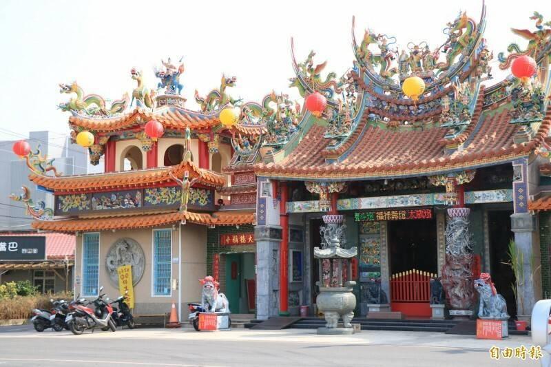 台南新化保生大帝廟微解封。(資料照)