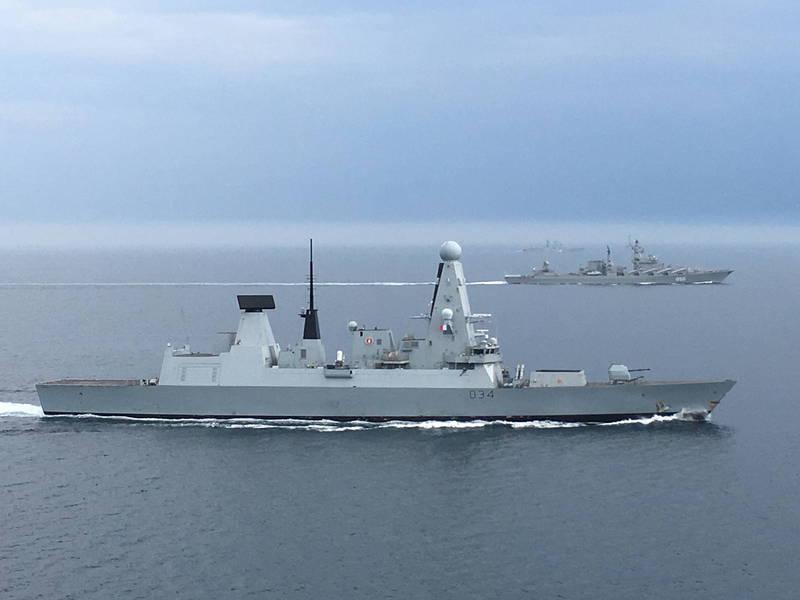 鑽石號驅逐艦因發動機遭遇「嚴重缺陷」,緊急返回地中海檢修。(歐新社)