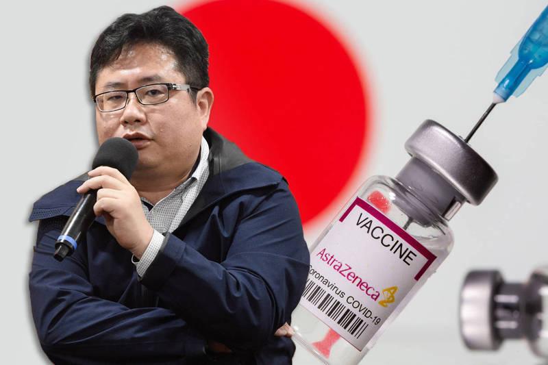 日本產經新聞社台北支局長矢板明夫。(本報合成)