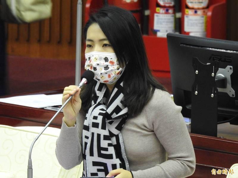 國民黨台北市議員徐巧芯等人發起「國家安全青年智庫」。(資料照)