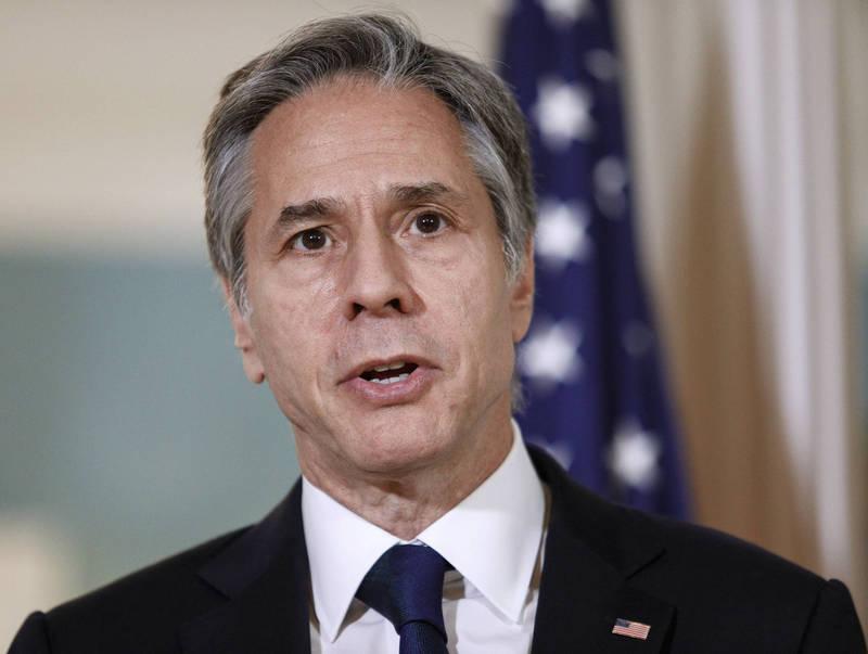 美國國務卿布林肯(見圖)上月表示,美國正在調查駐維也納的美國外交官員出現「哈瓦那症候群」症狀的真相。(美聯社)