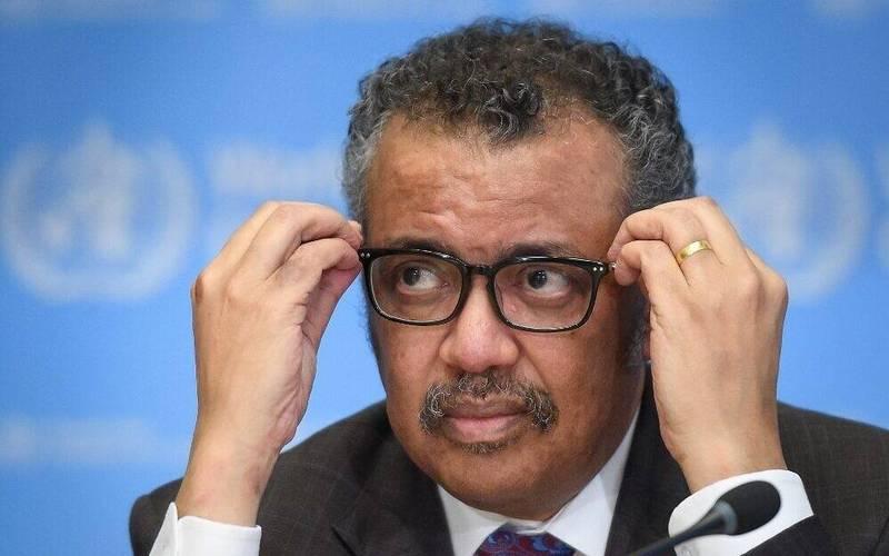 世界衛生組織秘書長譚德塞。(法新社資料照)