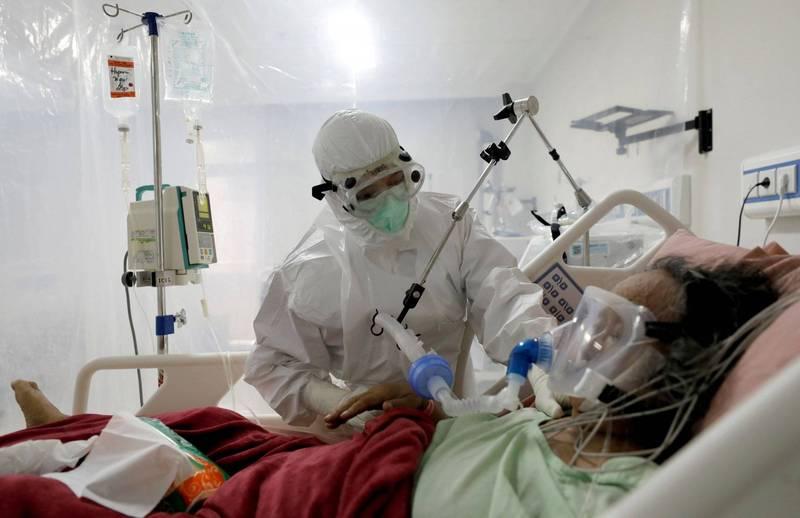 印尼7月上旬因武漢肺炎(新型冠狀病毒病,COVID-19)過世的醫師人數激增。(路透)