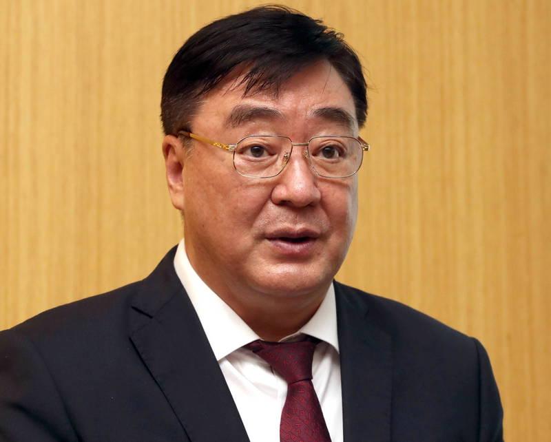 中駐韓大使邢海明。(歐新社)