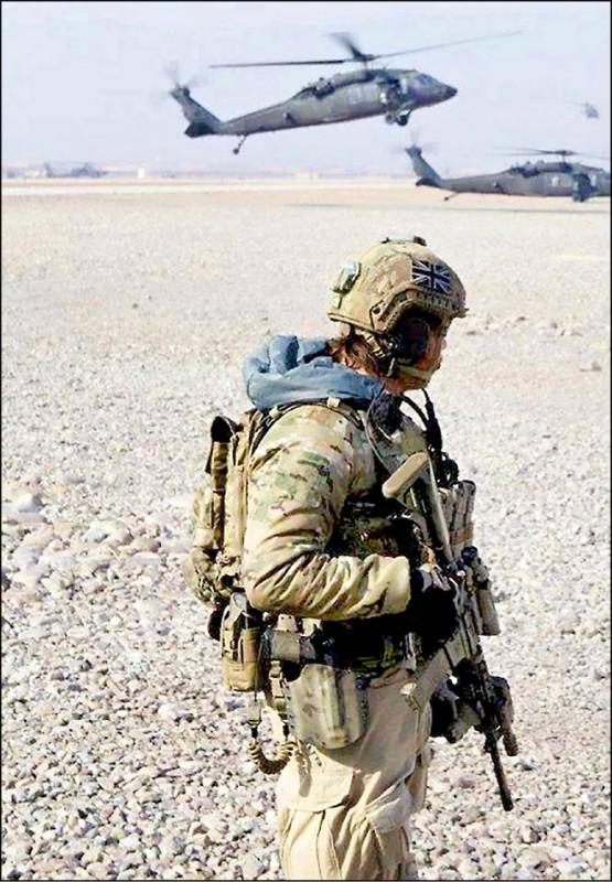 英國皇家海軍陸戰隊將接手陸軍「空降特勤隊」(SAS)等特種部隊的任務,讓特種部隊專心進行打擊中、俄等「大國對手」的秘密任務。(取自網路)