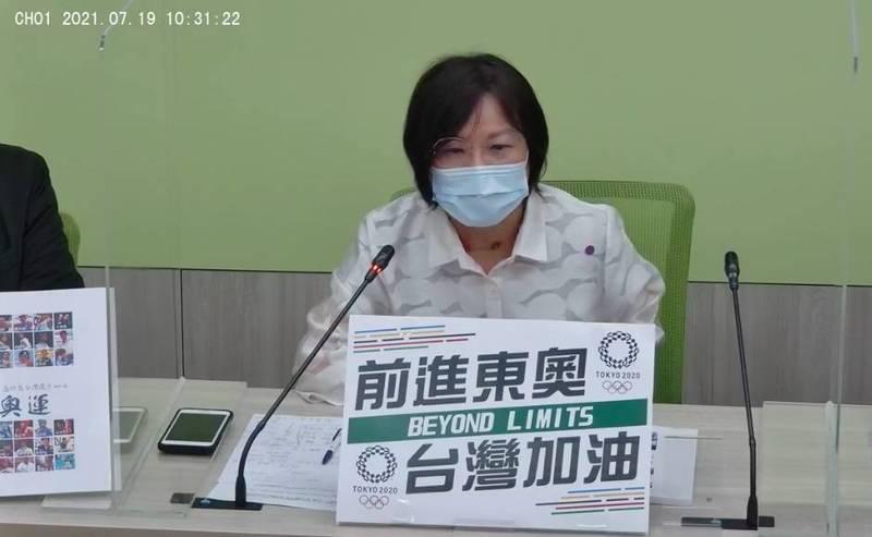 立法院民進黨團幹事長劉世芳。(記者謝君臨翻攝)