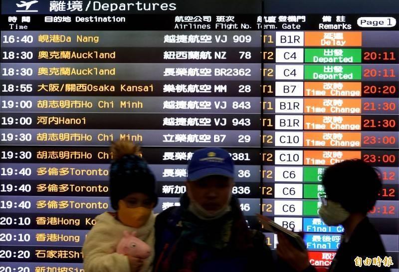 越南衛生部昨晚通報新增一例自台灣移入的COVID-19確診病例。根據通報,患者是一名27歲男子,6月26日從台灣飛抵越南南部的芹苴國際機場。示意圖。(資料照)