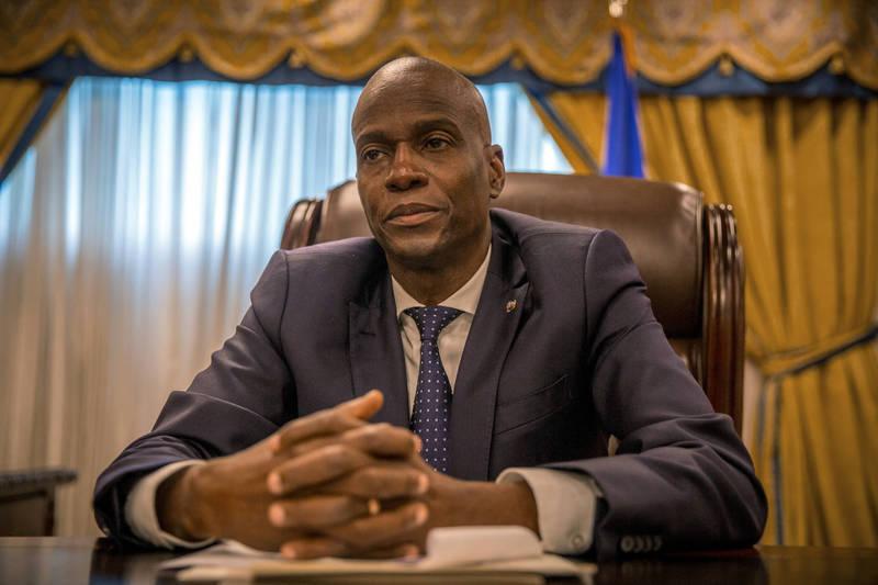 海地總統摩依士(見圖)本月7日遭刺殺身亡。(法新社)