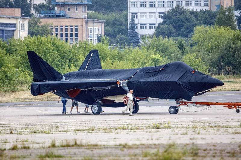俄國新戰機將在20日的莫斯科航展中亮相。(美聯社)