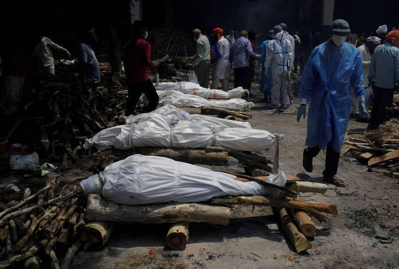 新研究稱,印度實際死於武漢肺炎的人數恐超過400萬人。(路透資料照)