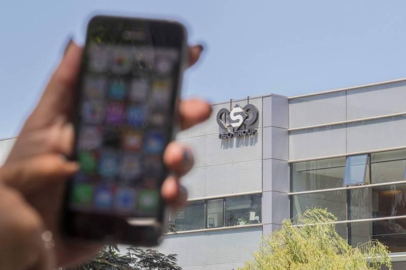 國際特赦組織指出,特定人士的蘋果手機遭政府以監控軟體入侵。(法新社)
