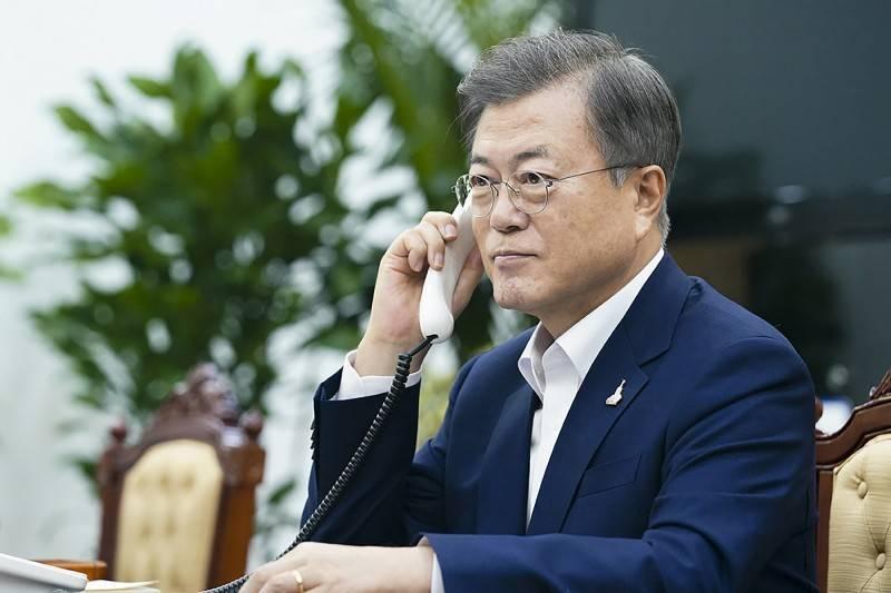 南韓總統文在寅。(美聯社檔案照)