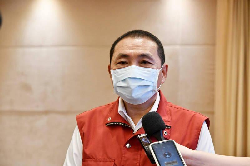 針對桃園市長鄭文燦、台南市長黃偉哲表態第二劑願意施打高端疫苗,新北市長侯友宜表示,這是科學不是政治。(新聞局提供)