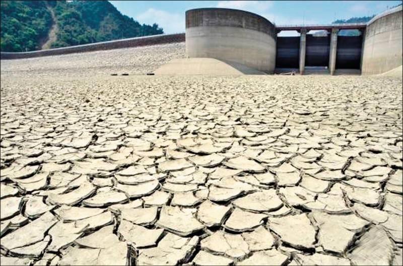 台灣上半年才飽受大旱之苦。(資料照)