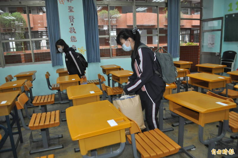大考中心預計27日下午開放指考考生看考場。(資料照,記者李容萍攝)