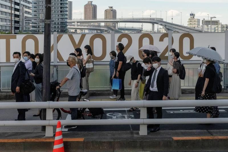 日本專家警告,東奧期間東京單日確診數恐達到2600人。(路透)