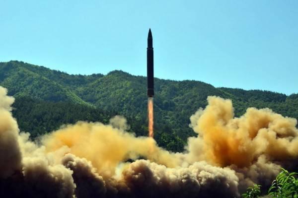 洲際飛彈示意圖。(法新社資料照)