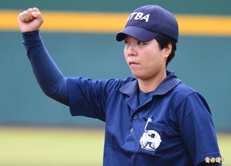 台灣女子運動體育協會創辦人劉柏君表示,有些規定需要衝撞,不然某些不合理的要求就會以「傳統」為由,延續下去。(資料照)