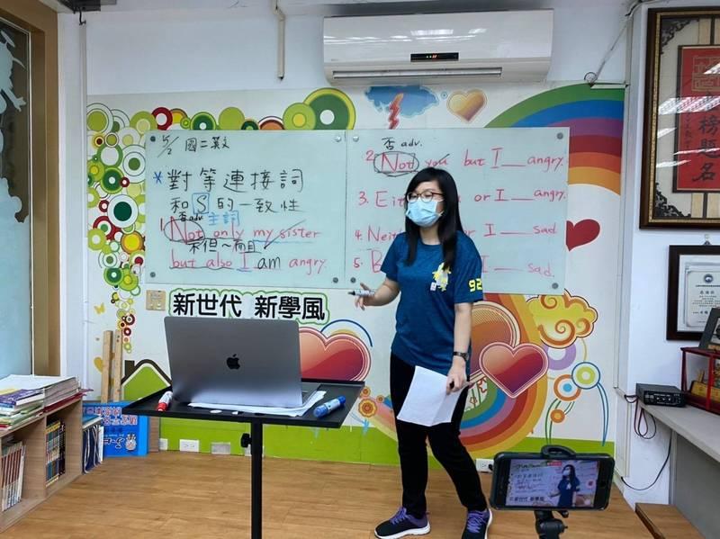 南市議員呂維胤建議市府有條件開放幼兒園、補習班與課照中心恢復營運。(圖:呂維胤服務處提供)