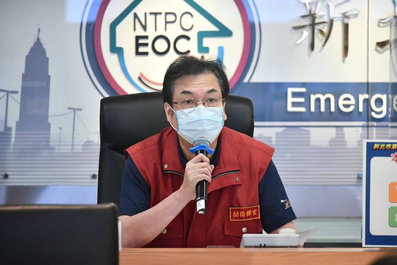 新北市副市長劉和然今天接受廣播專訪時表示,新北市緩降級將分兩階段四梯次進行。(資料照,新北市政府提供)