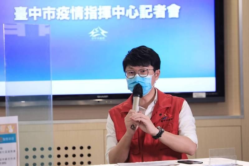 中市新聞局長黃國瑋。(圖:市府提供)