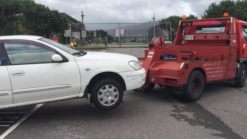 台北市政府指出,今晚8點啟動河川區車輛「只出不進」管制措施,並禁止停車,違者拖吊開罰。(台北市政府提供)