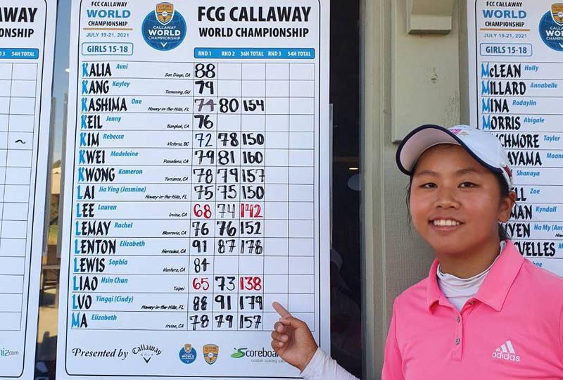晉身台灣之光!台南後壁高中廖信淳勇奪世界青少年高爾夫冠軍