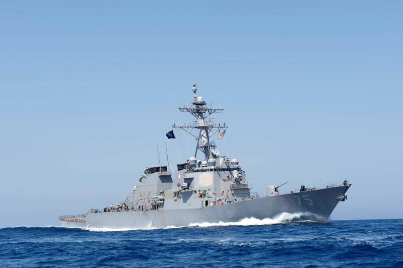 美海军神盾驱逐舰「库克号」结束长达7年驻扎于西班牙海军基地的协防任务,已返回美国佛州梅波特海军基地。(路透)(photo:LTN)
