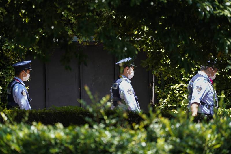 日本東京都豐島區衛生部長、疫苗接種部門負責人22日在公園露鳥,被警方逮捕。圖為日本警察示意圖,與本文無關。(美聯社)