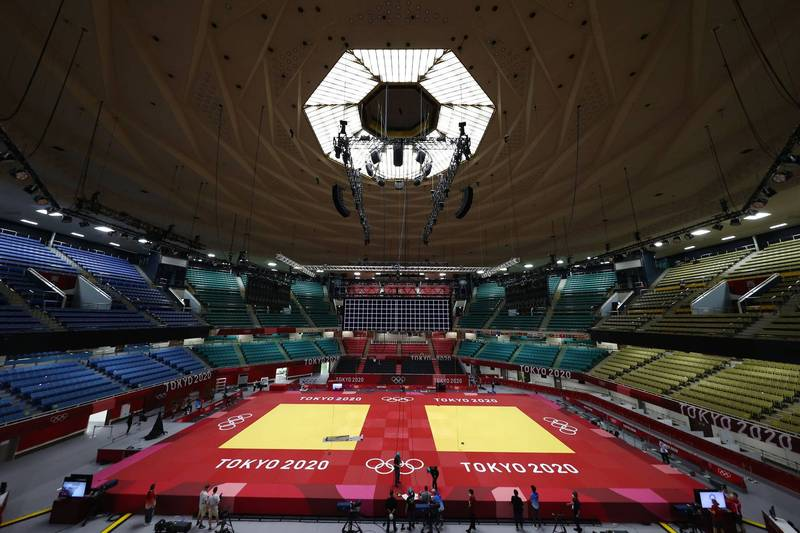2020東京奧運即將在明(23日)登場,不過又有12名奧運相關人士確診,其中包含2名外國選手。(路透)