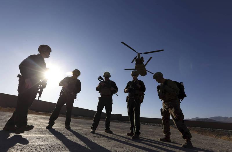 美將領表示,美軍撤出後阿富汗安全情勢迅速惡化。示意圖。(美聯社)