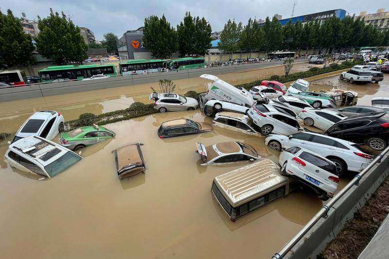鄭州水庫洩洪未發預警! 中國民眾:洪災恐是人禍