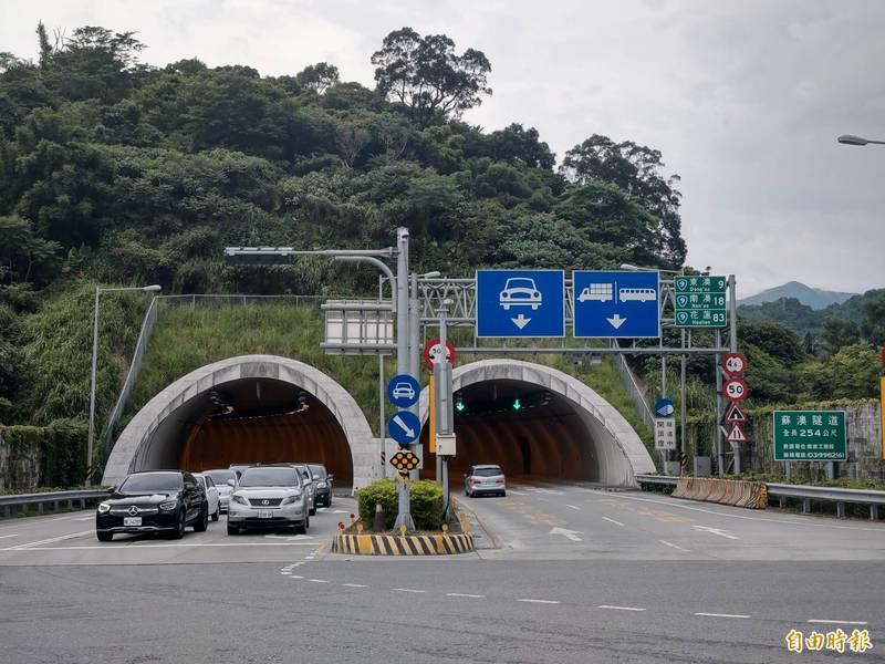 圖為蘇花改蘇澳隧道。(資料照)