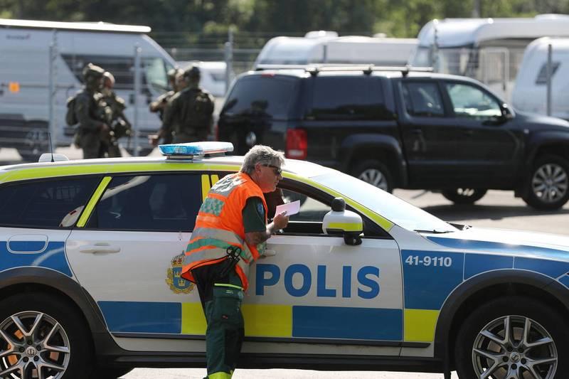 瑞典监狱发生挟持人质案,有2名狱警21日遭2名杀人犯挟持。(法新社)(photo:LTN)