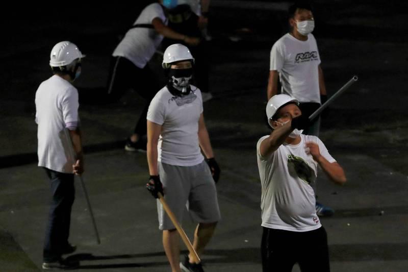 香港元朗721動粗白衣人最高判7年 法官:喪失理智的無差別襲擊