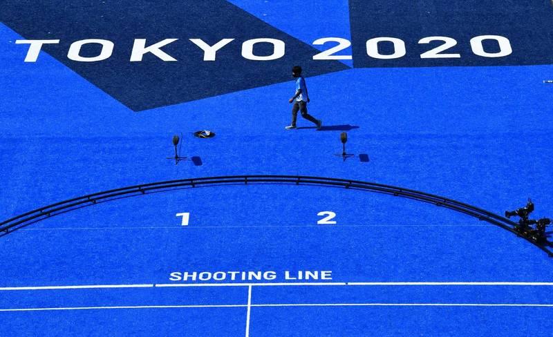東京奧運即將於明開幕,不過當地武漢肺炎疫情越演越烈,今日增加1979例確診,較上週四爆增671人。(路透)