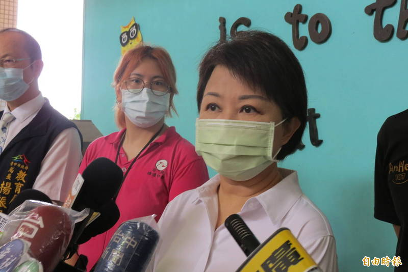 市長盧秀燕表示,代表市府及市民向中國鄭州表示關心及慰問。(記者蘇金鳳攝)