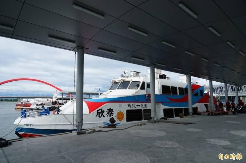 受烟花颱風影響,國內線海運今有5航線、41艘次停開。(資料照)