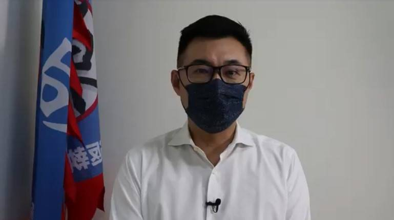 行政院昨天宣布加碼採購3600萬劑莫德納疫苗,國民黨主席江啟臣今日透過視訊評論表示,貨到才是重點。(截圖自視訊)