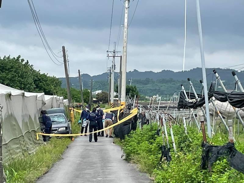行竊的廖姓男子及潘姓妻子被憤怒的村民拖出車外爆打,釀成1死1重傷。(資料照,警方提供)