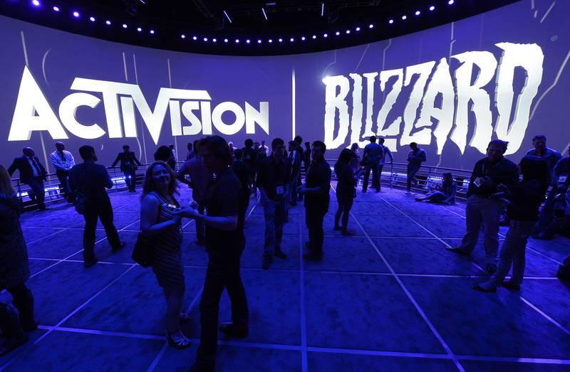 美遊戲商暴雪如今遭指控存在嚴重職場性別歧視。(歐新社)