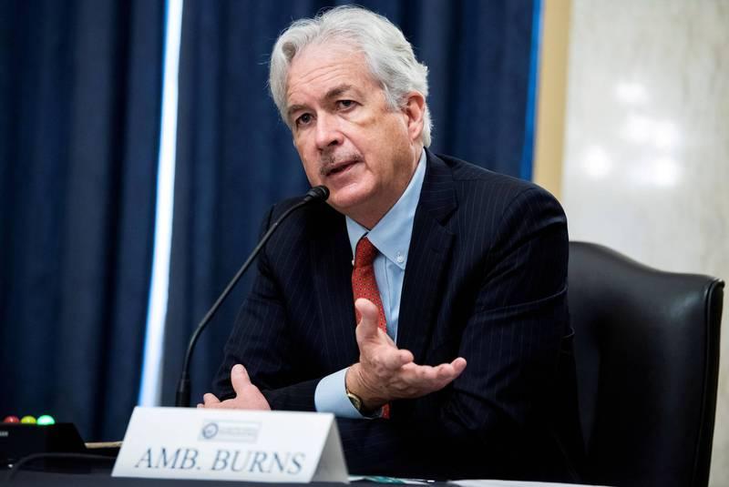 美國中央情報局(CIA)局長伯恩斯今天表示,約200名罹患「哈瓦那症候群」的美國官員和親屬中,約有100名是中情局人員和其家眷。(路透檔案照)